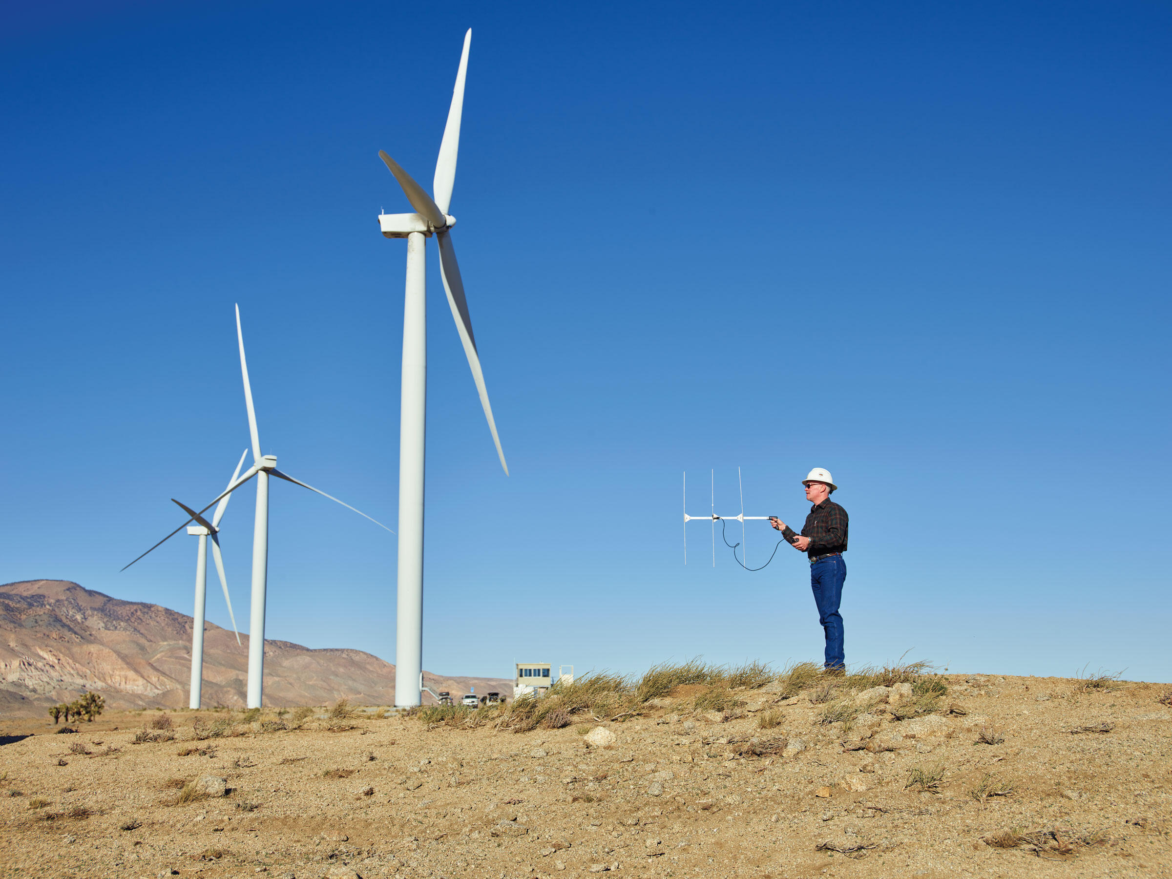 Energy companies like Terra-Gen in California are adopting bird-safe technologies to uphold protections set by the Migratory Bird Treaty Act. Spencer Lowell
