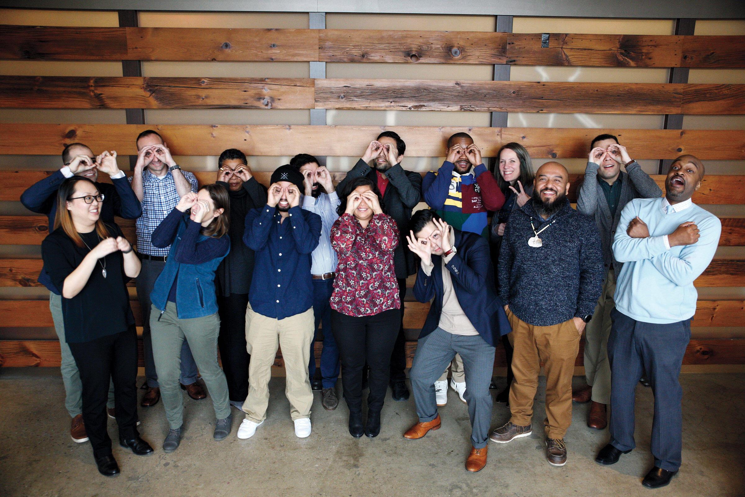 The 2019 cohort of Fund II Apprentices visit the New York headquarters for orientation. Luke Franke/Audubon