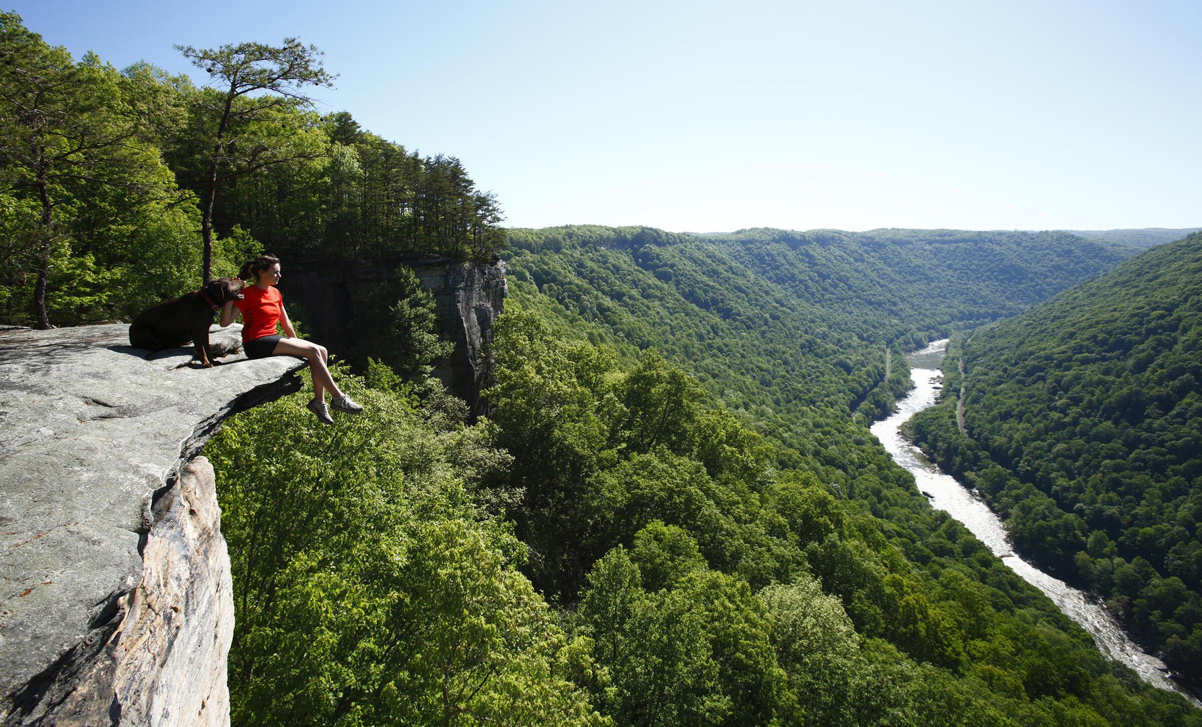 New River Gorge near Fayetteville West Virginia. Harrison Shull/Aurora Photos