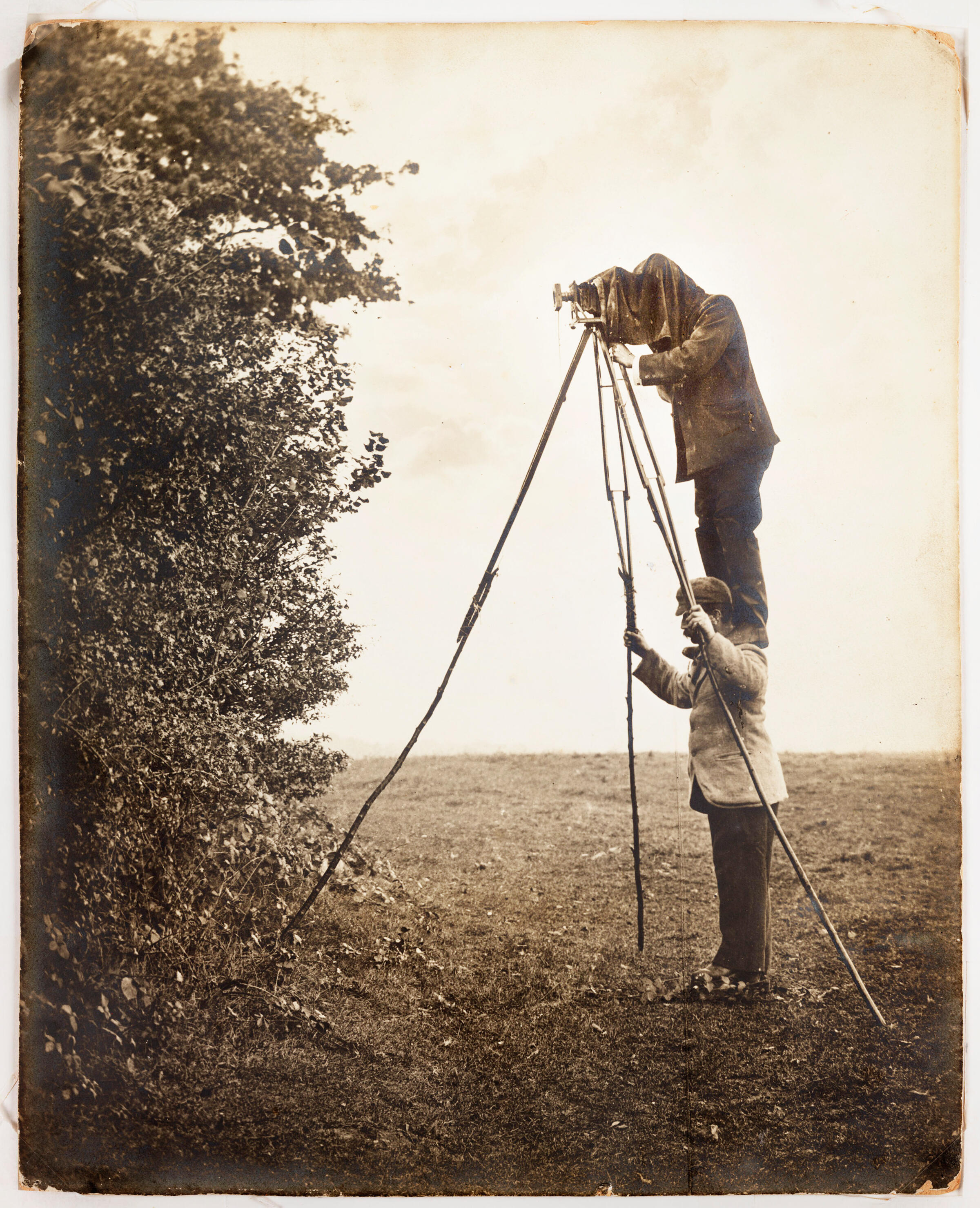 1900—Any wildlife photographer working today stands on the Kearton brothers' shoulders. Richard and Cherry Kearton/Royal Photographic Society/SSPL/Getty Images