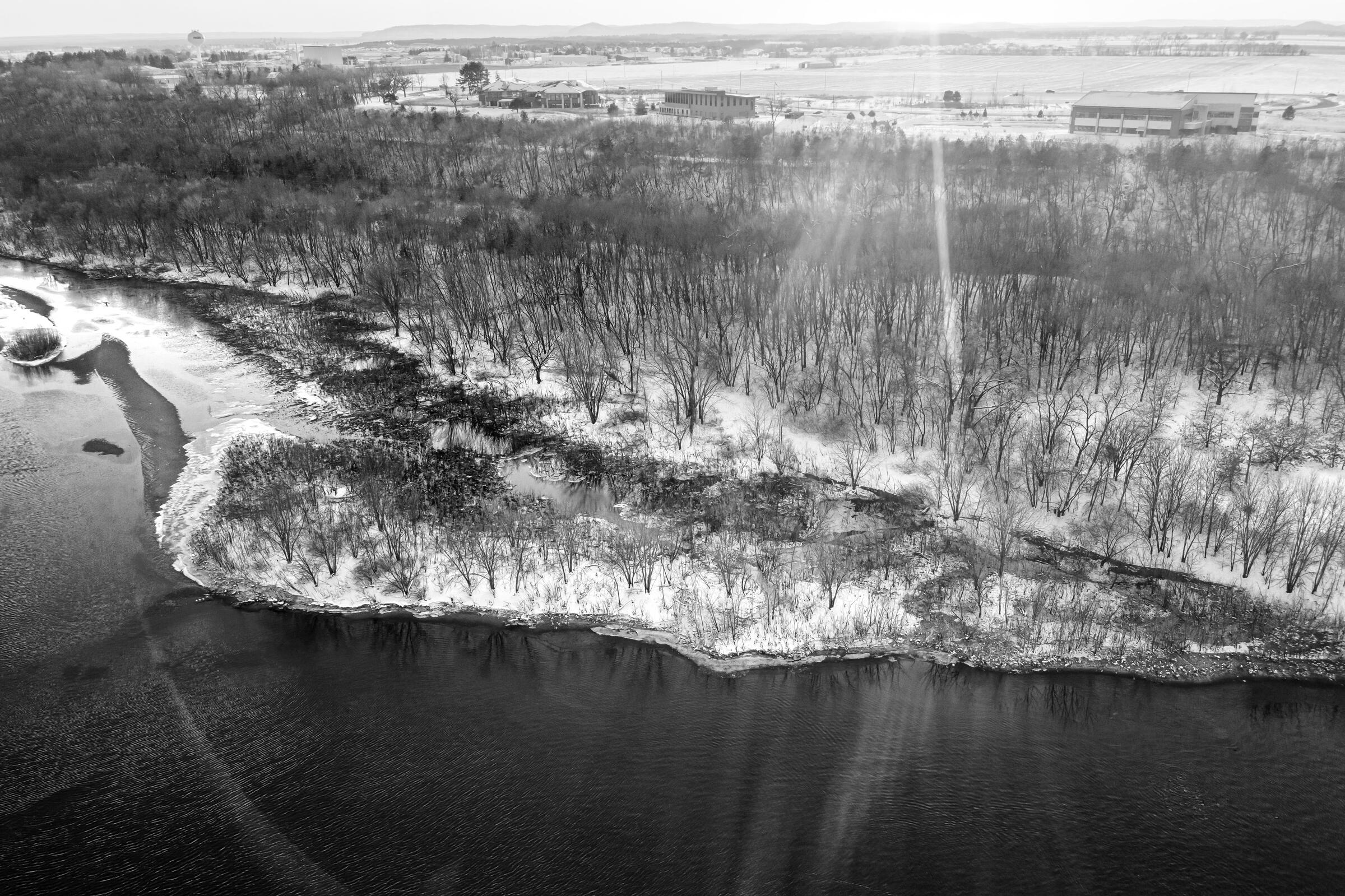This stretch of the Wisconsin River is the epicenter of the baffling disease. Tom Lynn