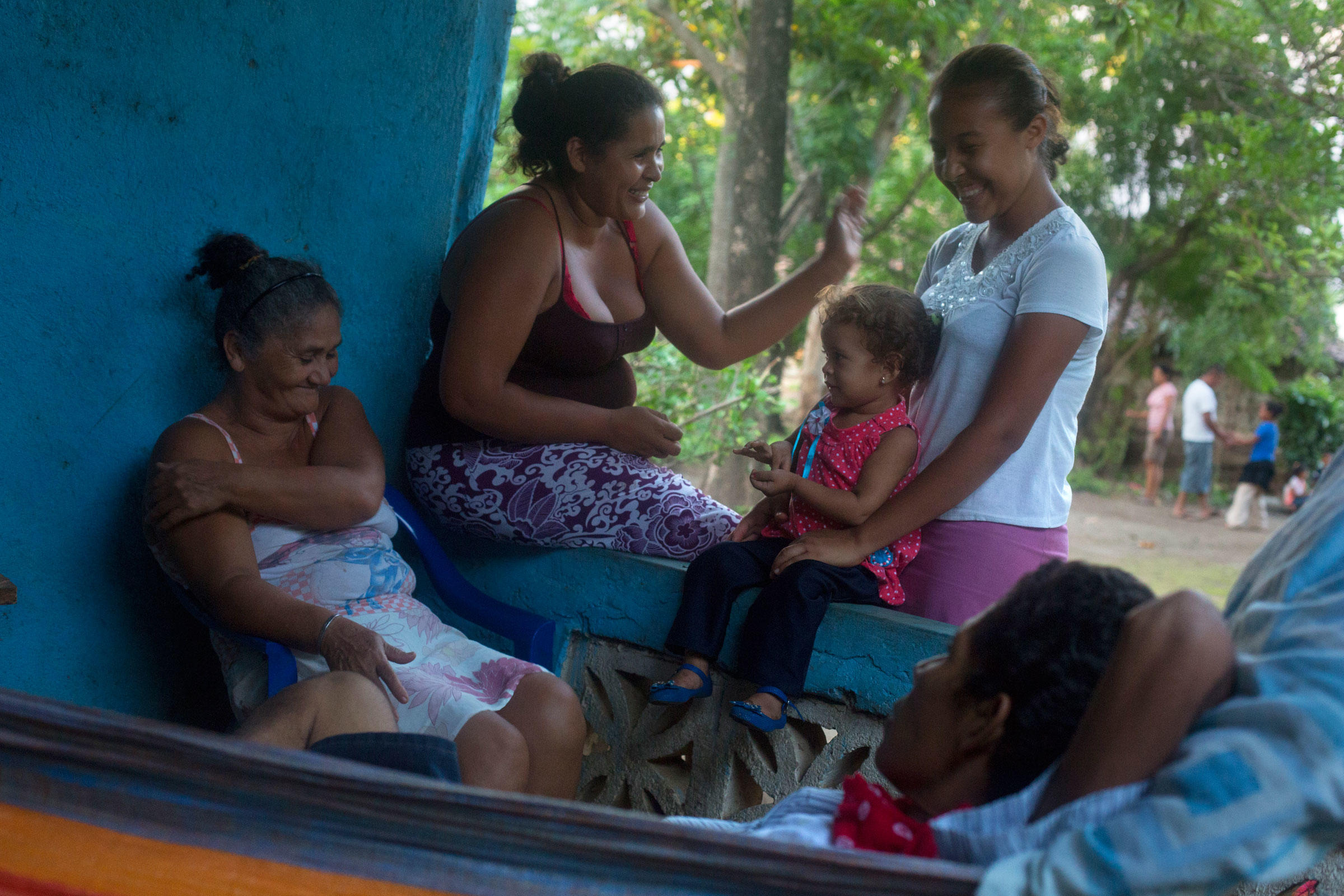 The Cantillano family lives in Santa Domingo Piche, and could be displaced by the new canal. Ivan Kashinsky