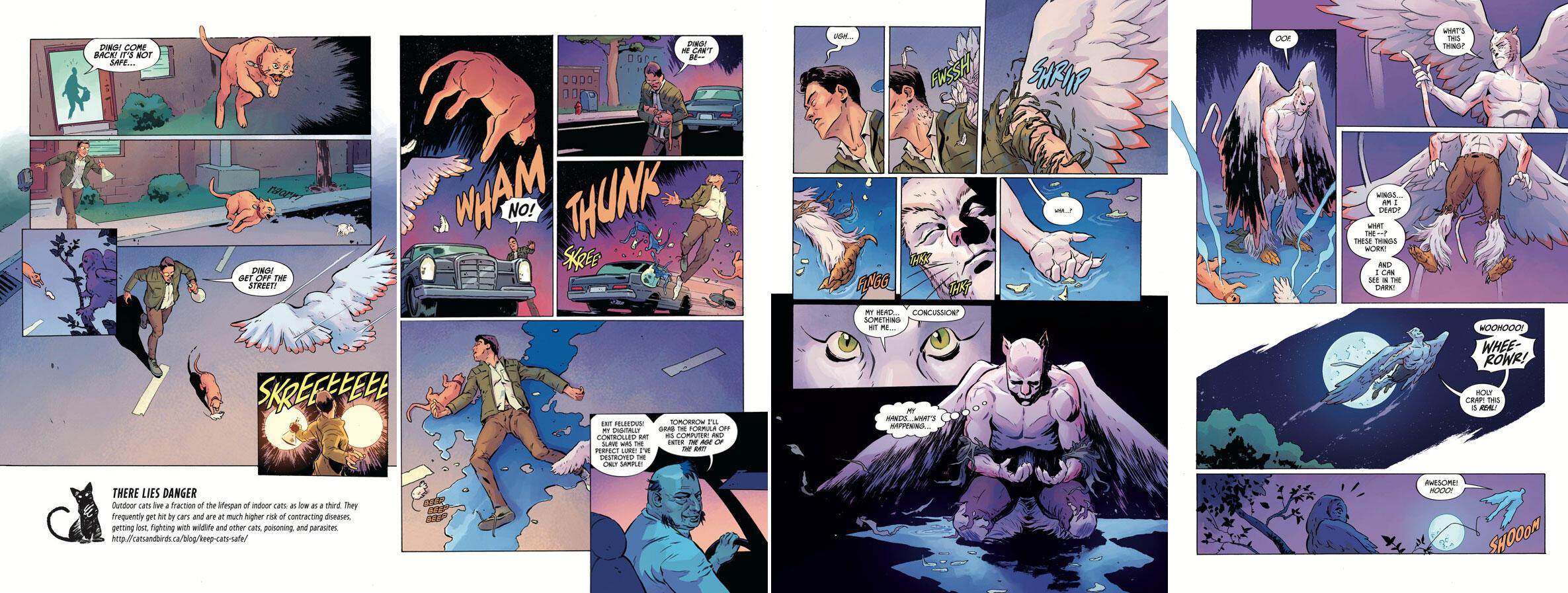 Illustrations: Courtesy of Dark Horse Comics