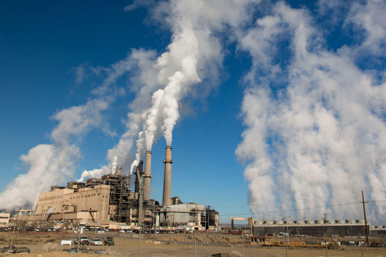 The San Juan Generating Plant in New Mexico, one of America's largest coal plants. Julie Dermansky