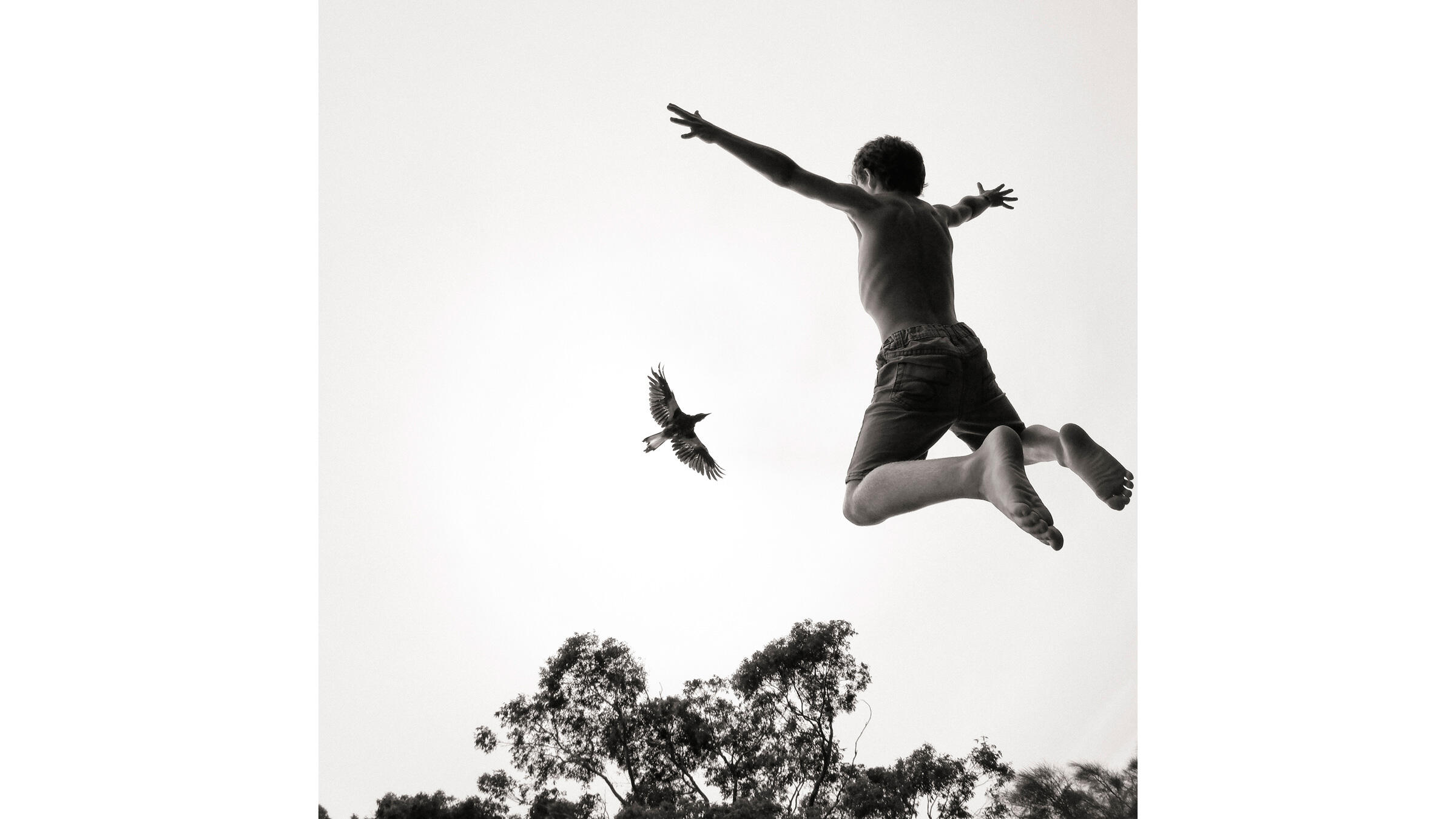 Leaping into the new year. Cameron Bloom