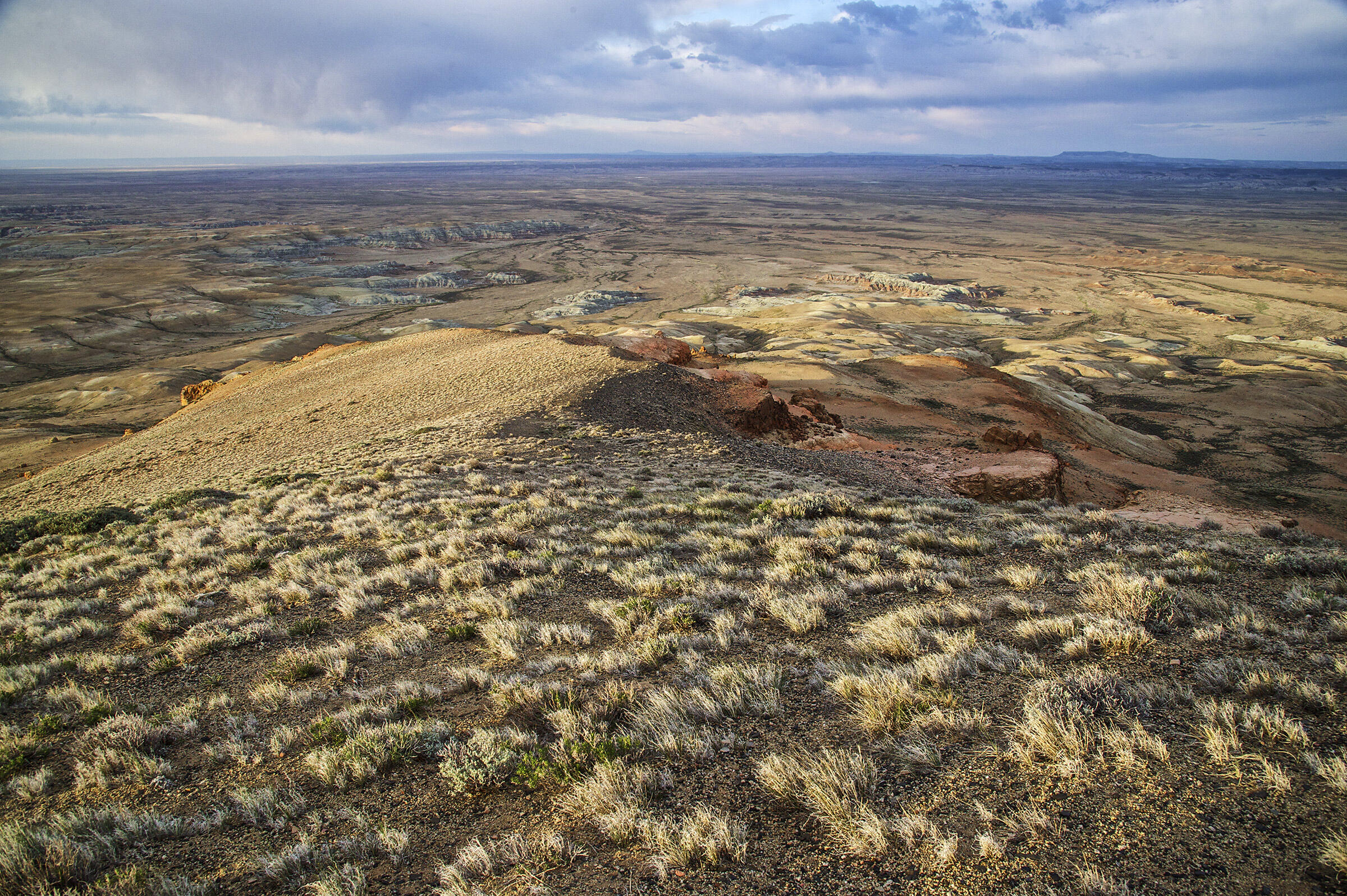 Sage-grouse territory, seen here from Continental Peak, Wyoming. Dave Showalter