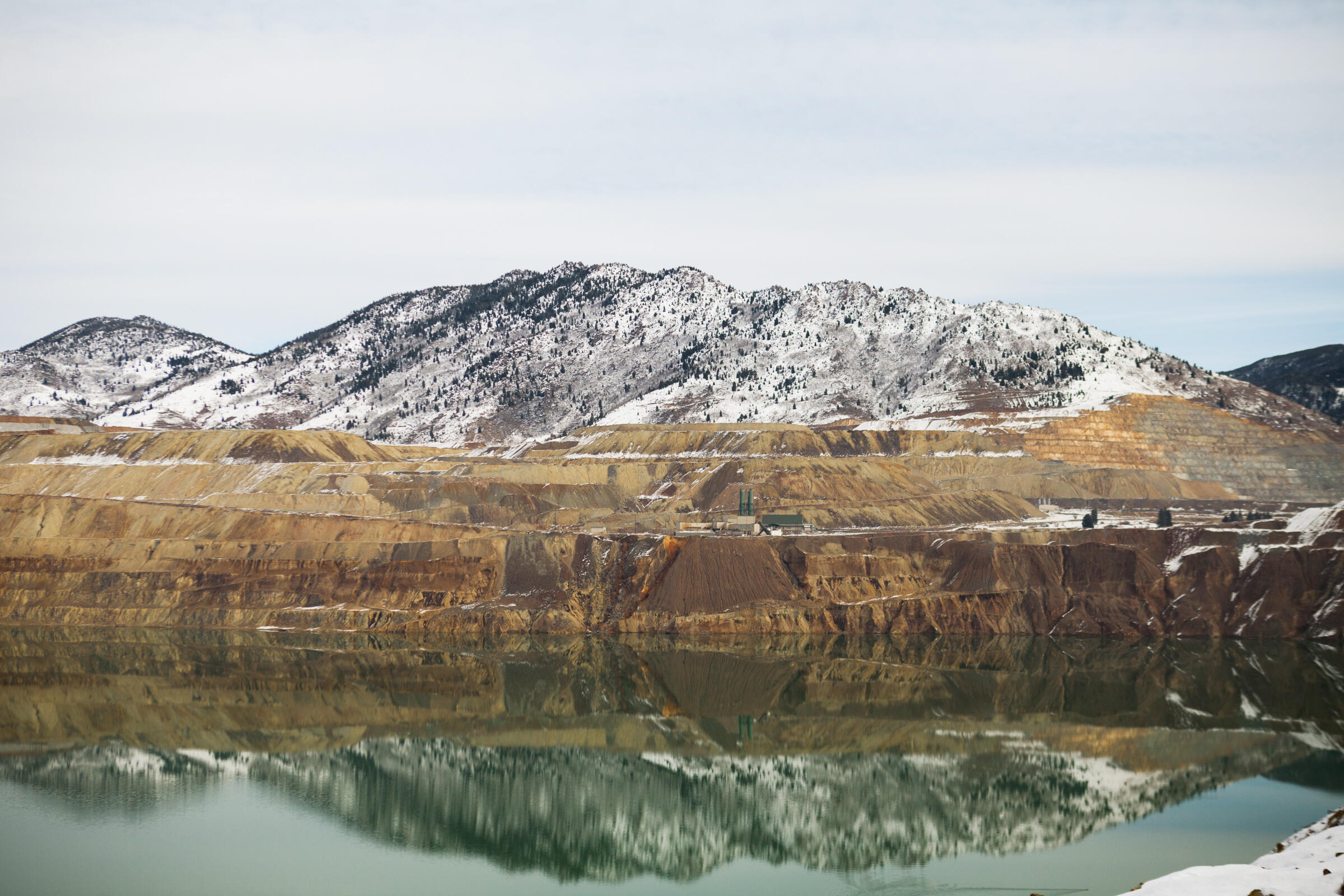 The Berkeley Pit opened in 1955, and Montana Resources has mined and processed copper and molybdenum at the site since 1985. Celia Talbot Tobin