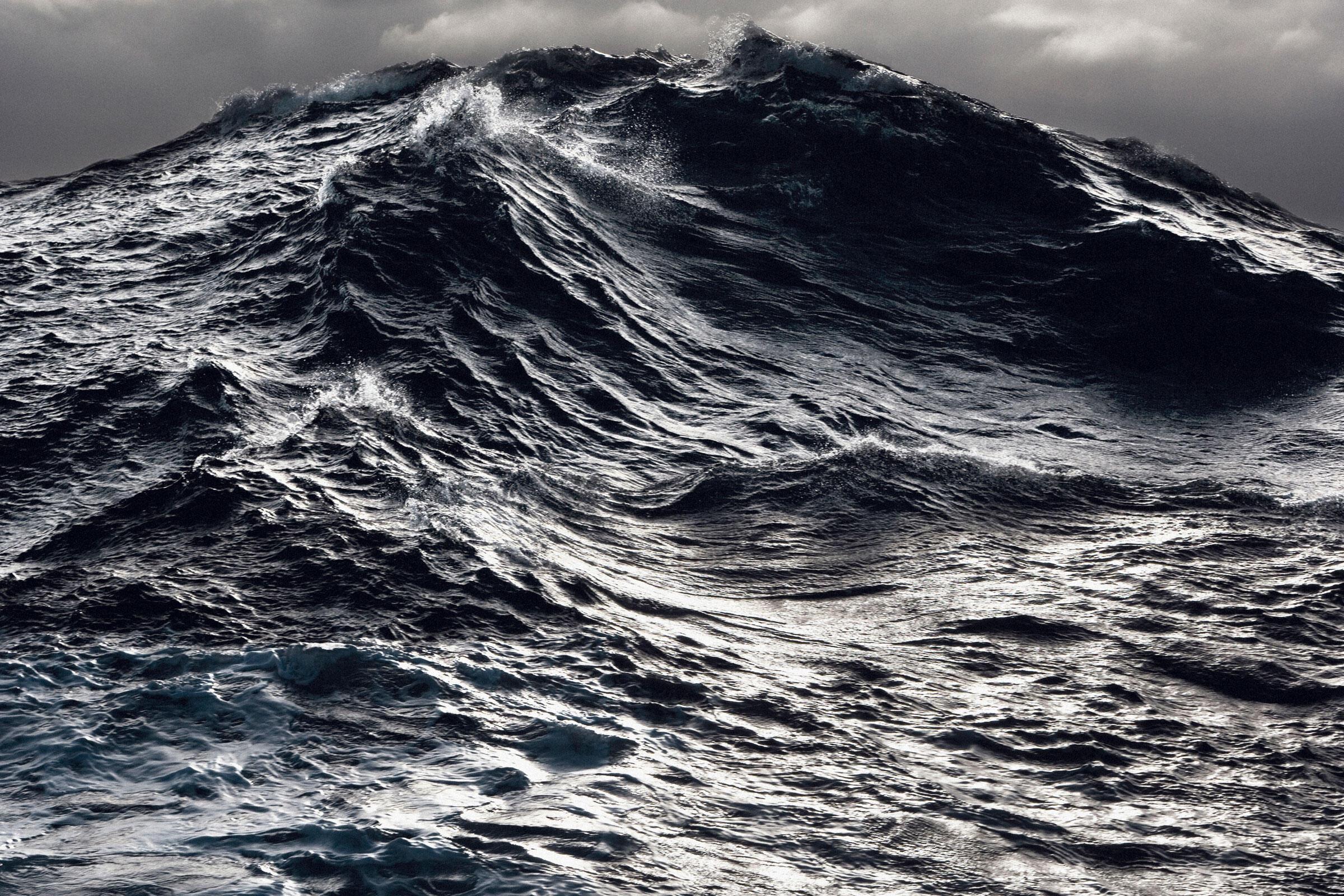 Wave in the southern ocean. Ross Sea, Antartica. John Weller