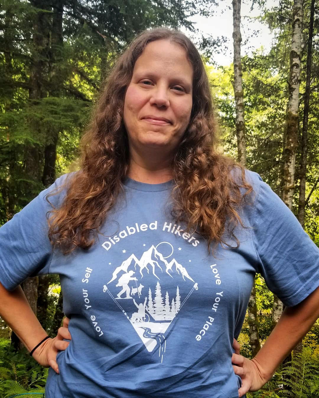 Syren Nagakyrie, founder of the group Disabled Hikers. Courtesy of Syren Nagakyrie