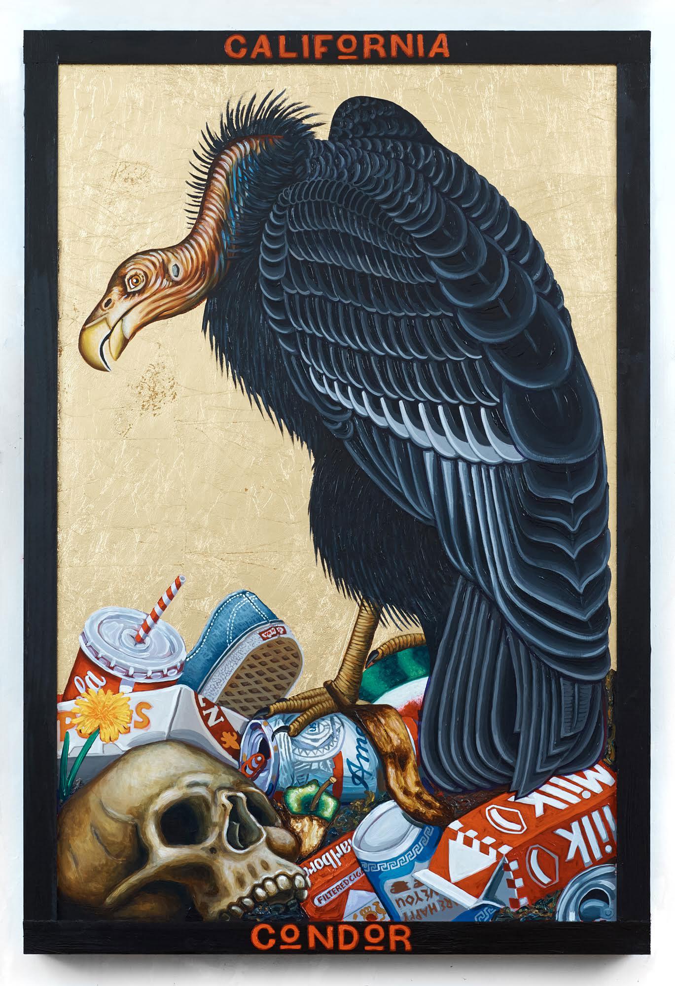 California Condor. Painting: Tom Sanford/101/EXHIBIT
