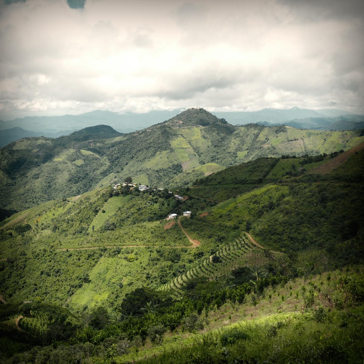 Mountains of eastern Myanmar recede into the distance. Noah Strycker