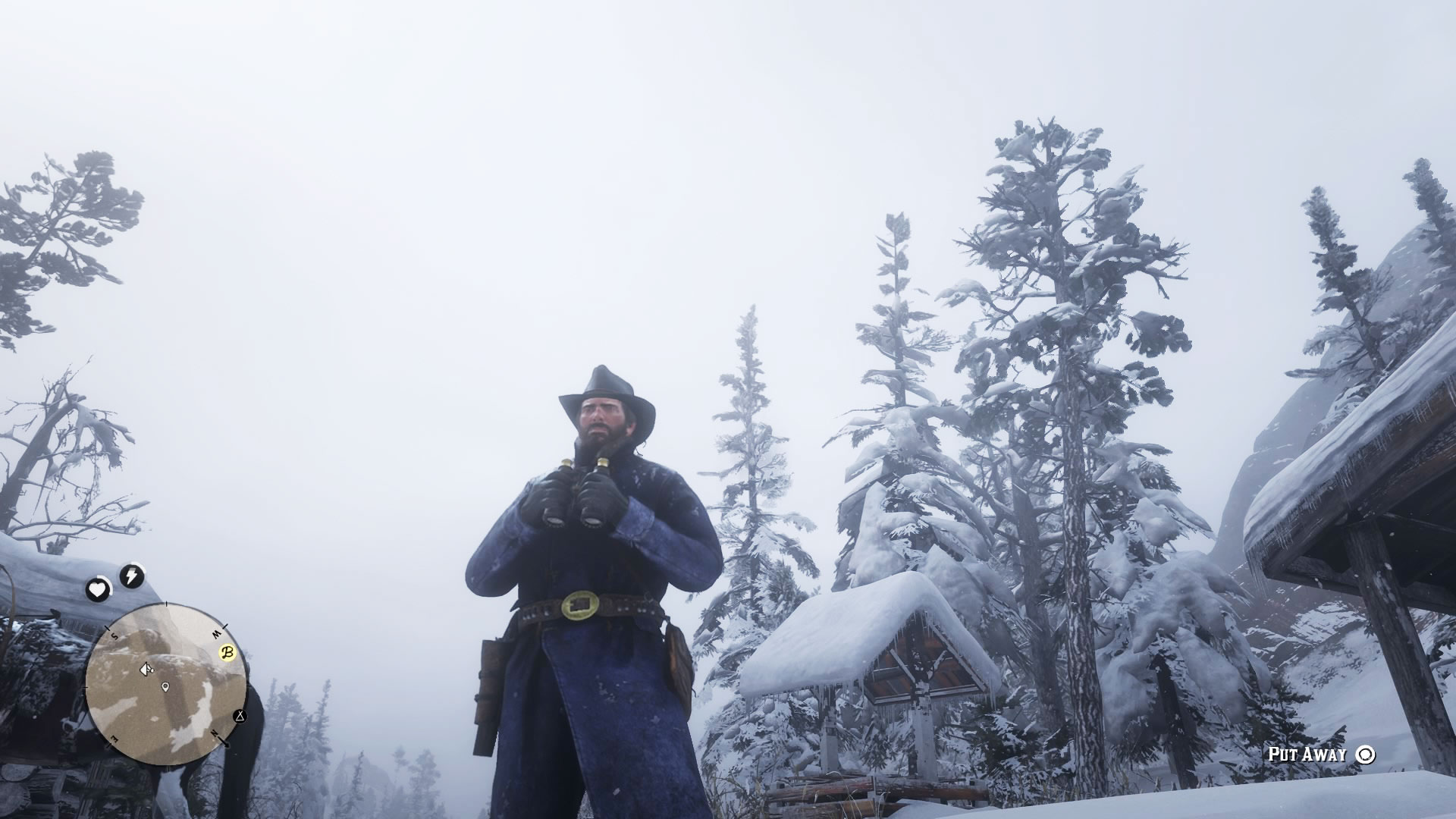 Arthur Morgan, birder. Image: Courtesy of Rockstar Games
