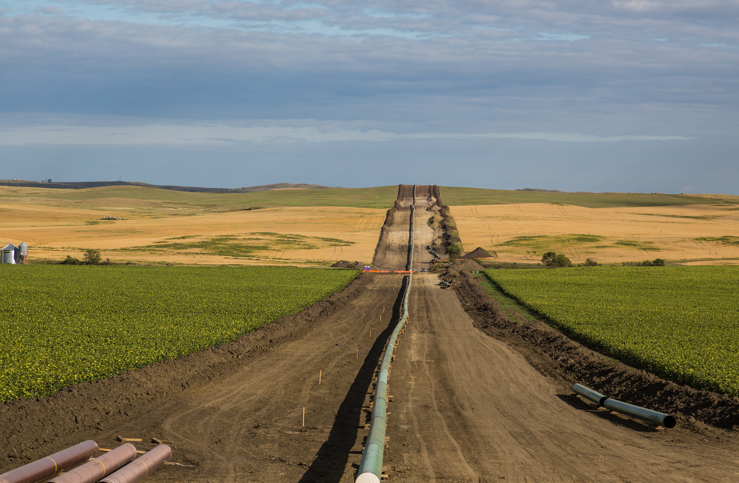 President Trump fast-tracked the Dakota Access oil pipeline in his first days in office, but courts have since ordered more careful environmental review. Tony Webster/Flickr (CC BY SA 2.0)