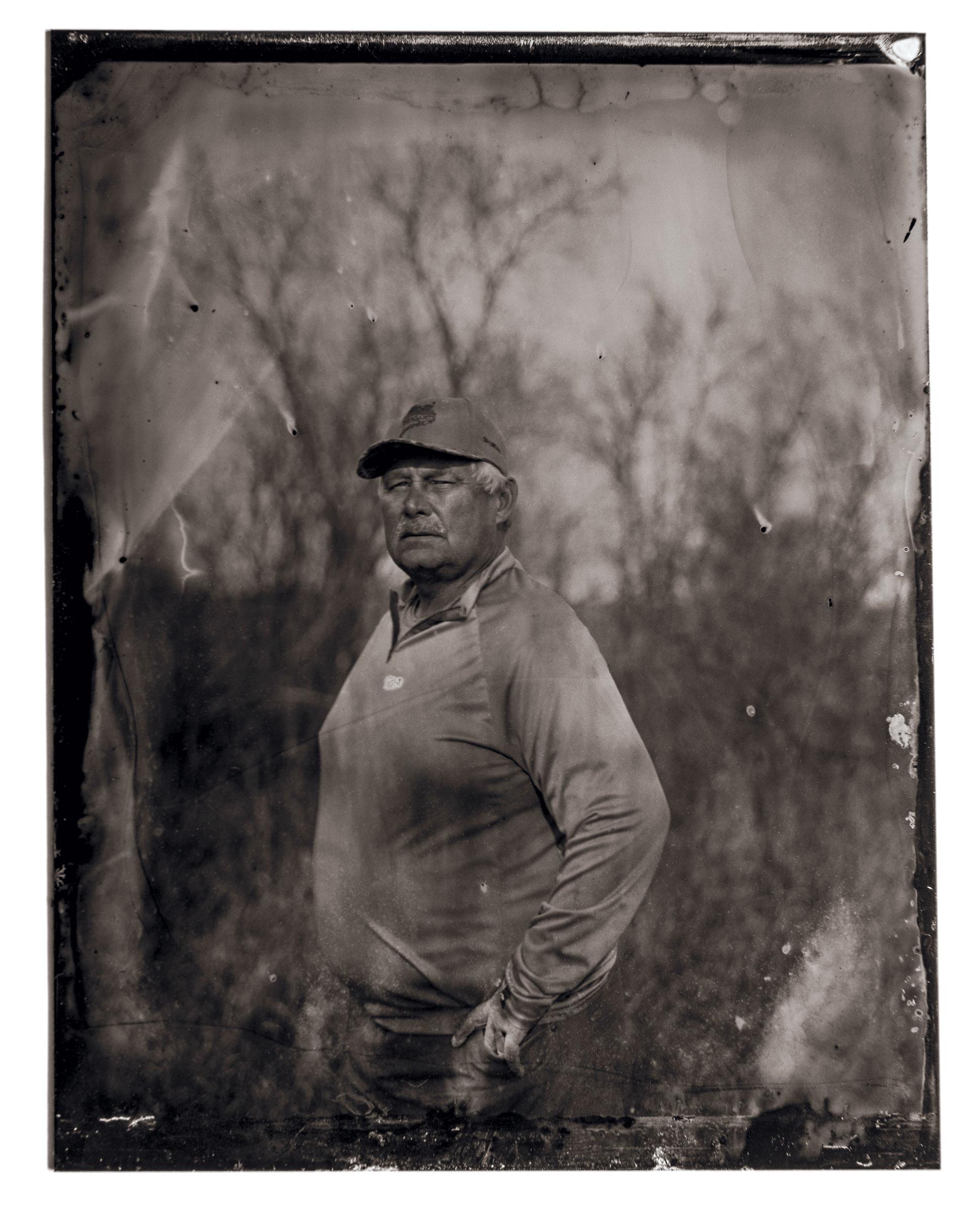 Paul Niebur on his pheasant property just outside of Redfield, South Dakota. Tom Fowlks
