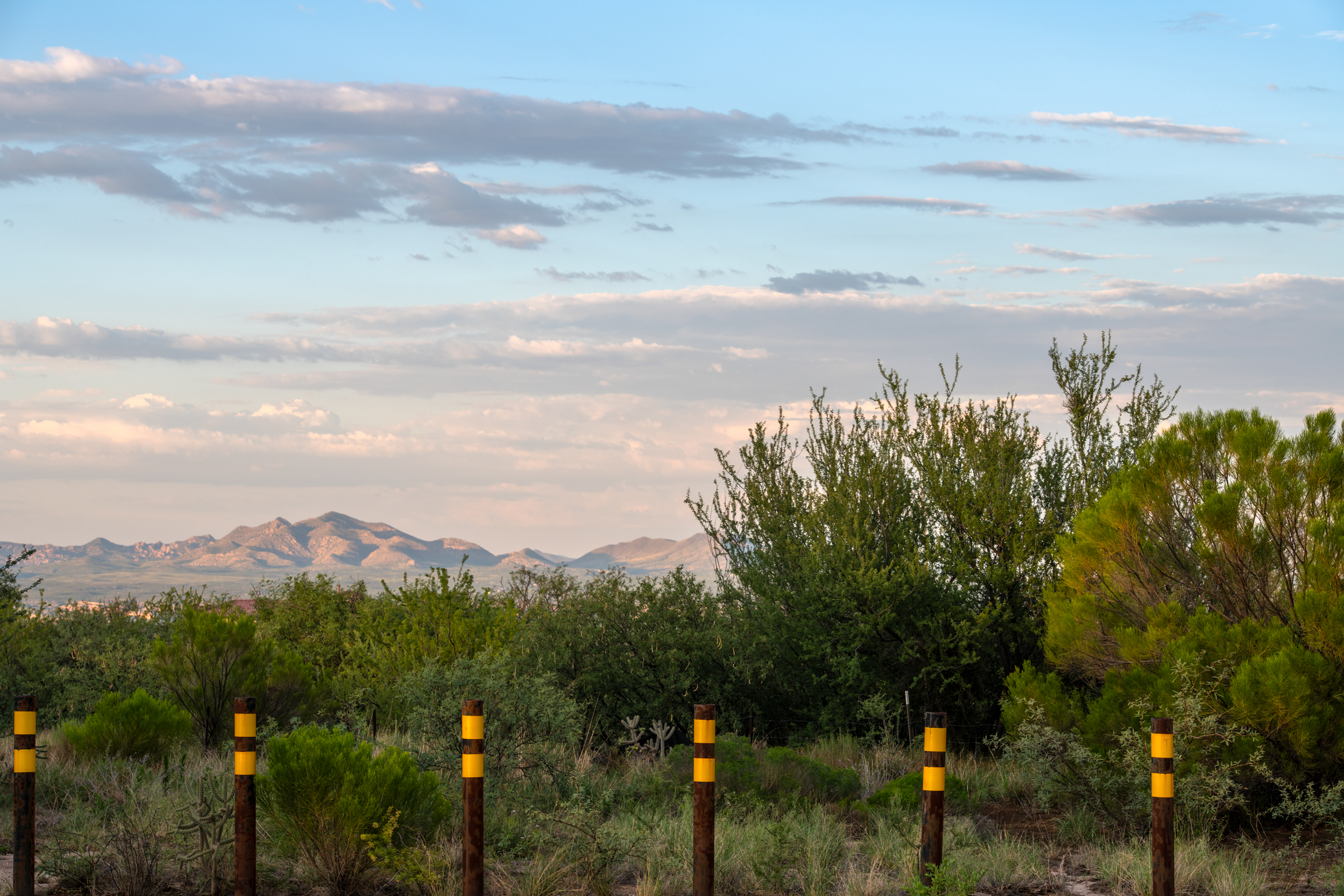 The Villages at Vignetto development site in Benson, Arizona, in August 2020. Ash Ponders