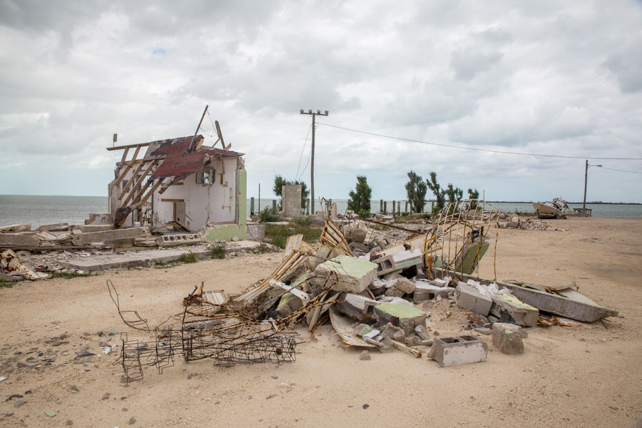 A building that was damaged as Hurricane Matthew swept through Andros, The Bahamas, in 2016. Many Bahamians lost their homes during the storm. Camilla Cerea/Audubon