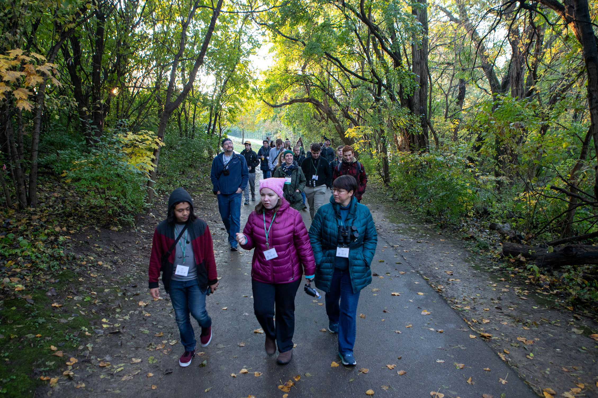 Winnicki's morning birding walk traced a route from the Grange Insurance Audubon Center to a nearby brownfield site. Camilla Cerea/Audubon