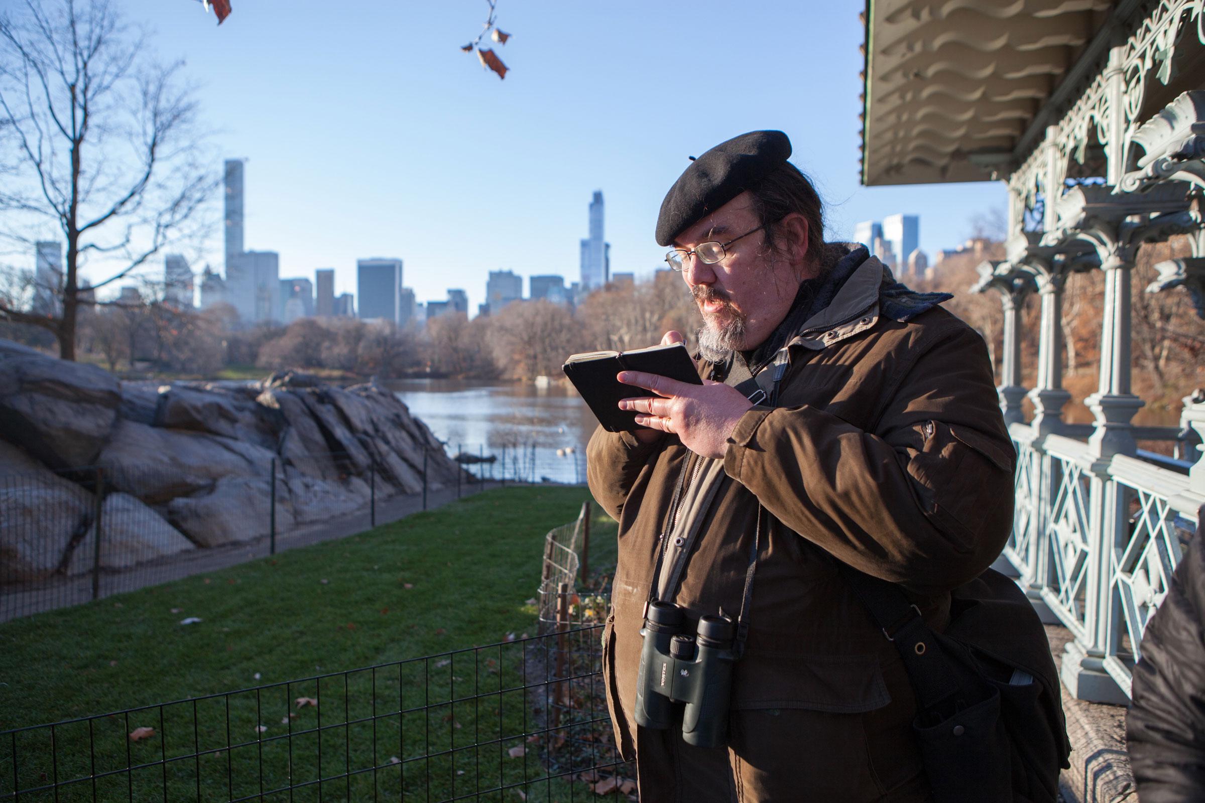 A CBC in New York City's Central Park. Camilla Cerea/Audubon