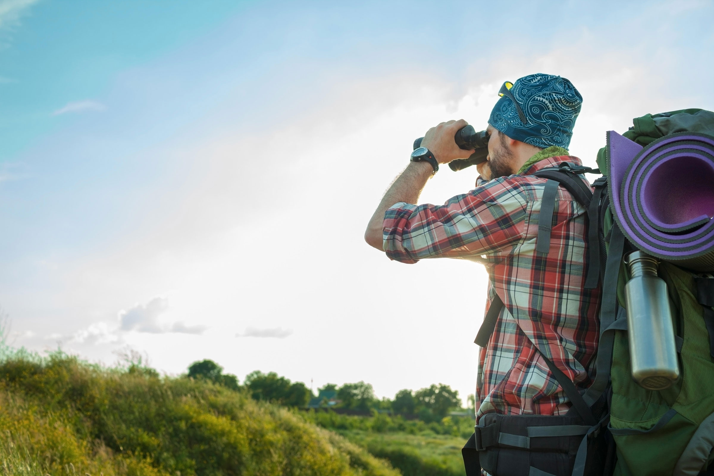 Load up your backpack to roam far from spots popular with humans and get closer to those popular with birds. Volodymyr Melnyk/Alamy