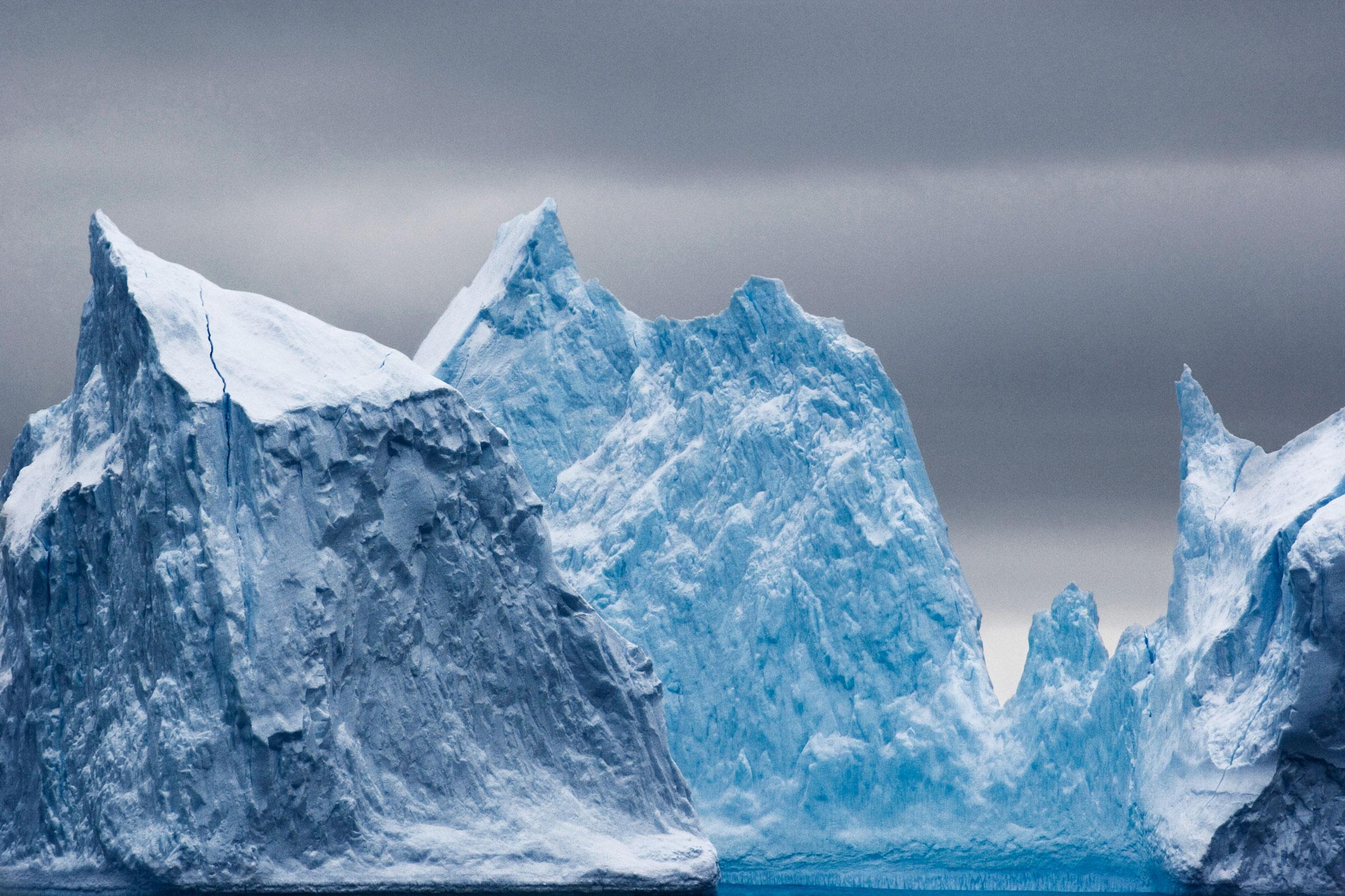 Iceberg. Ross Sea, Antarctica. John Weller