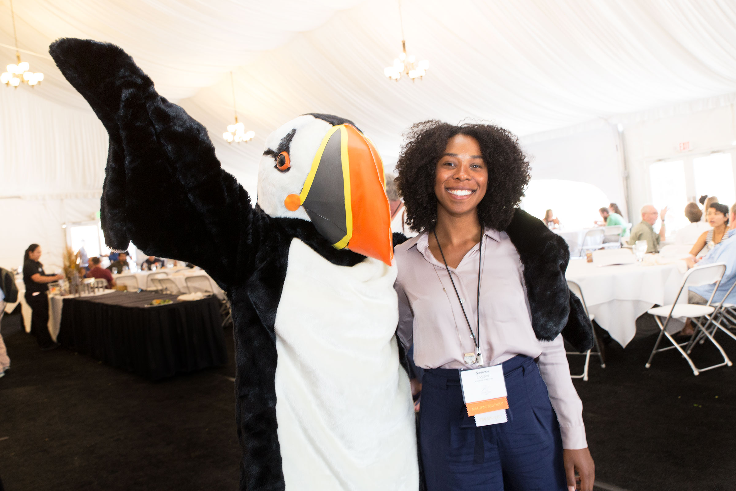 At the 2017 Audubon Convention in Park City, Utah, Loggins gave presentations to state and chapter leaders on the importance of equality, diversity, and inclusion. Camilla Cerea/Audubon