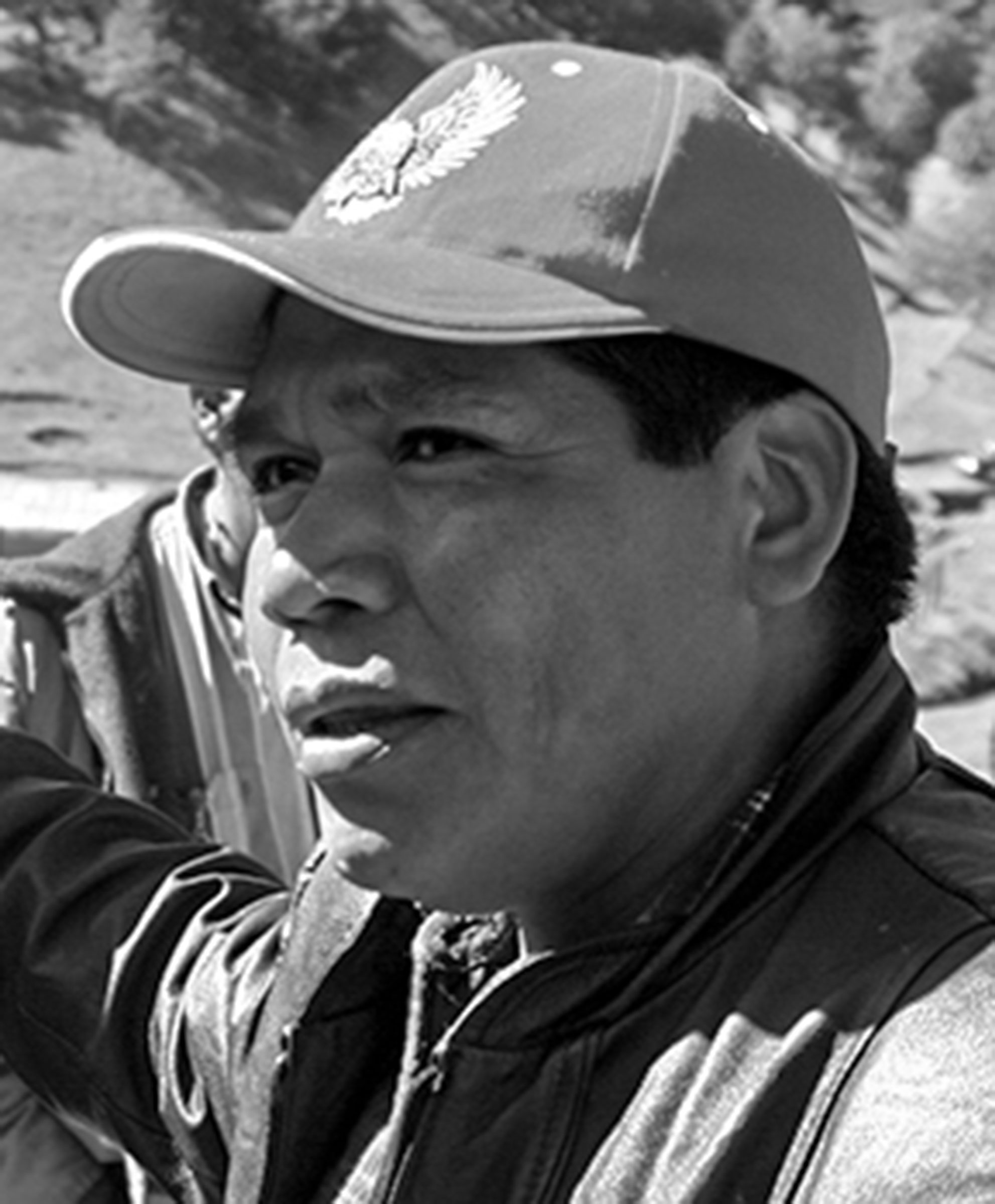 Tarahumara farmer Isidro Baldenegro.