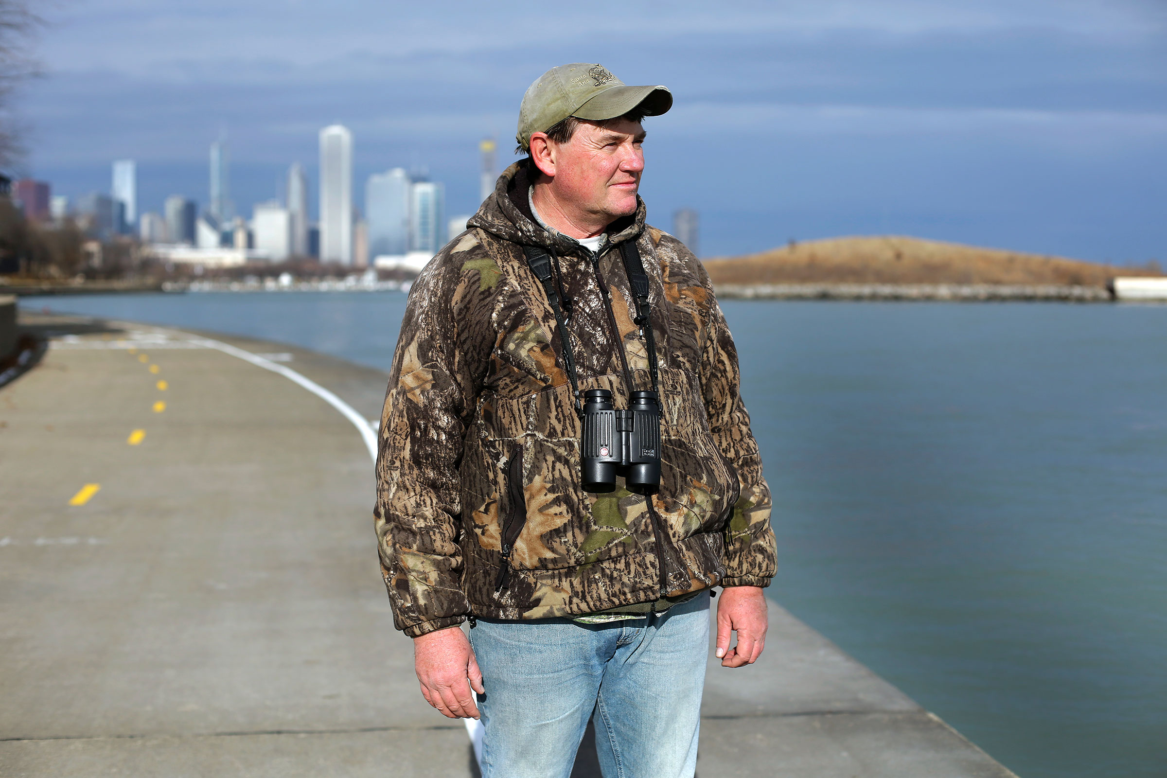 The Chicago count was just one of many this year for wildlife biologist Kelly McKay, who hopes to one day take over the record for participating in the most CBCs. Joshua Lott