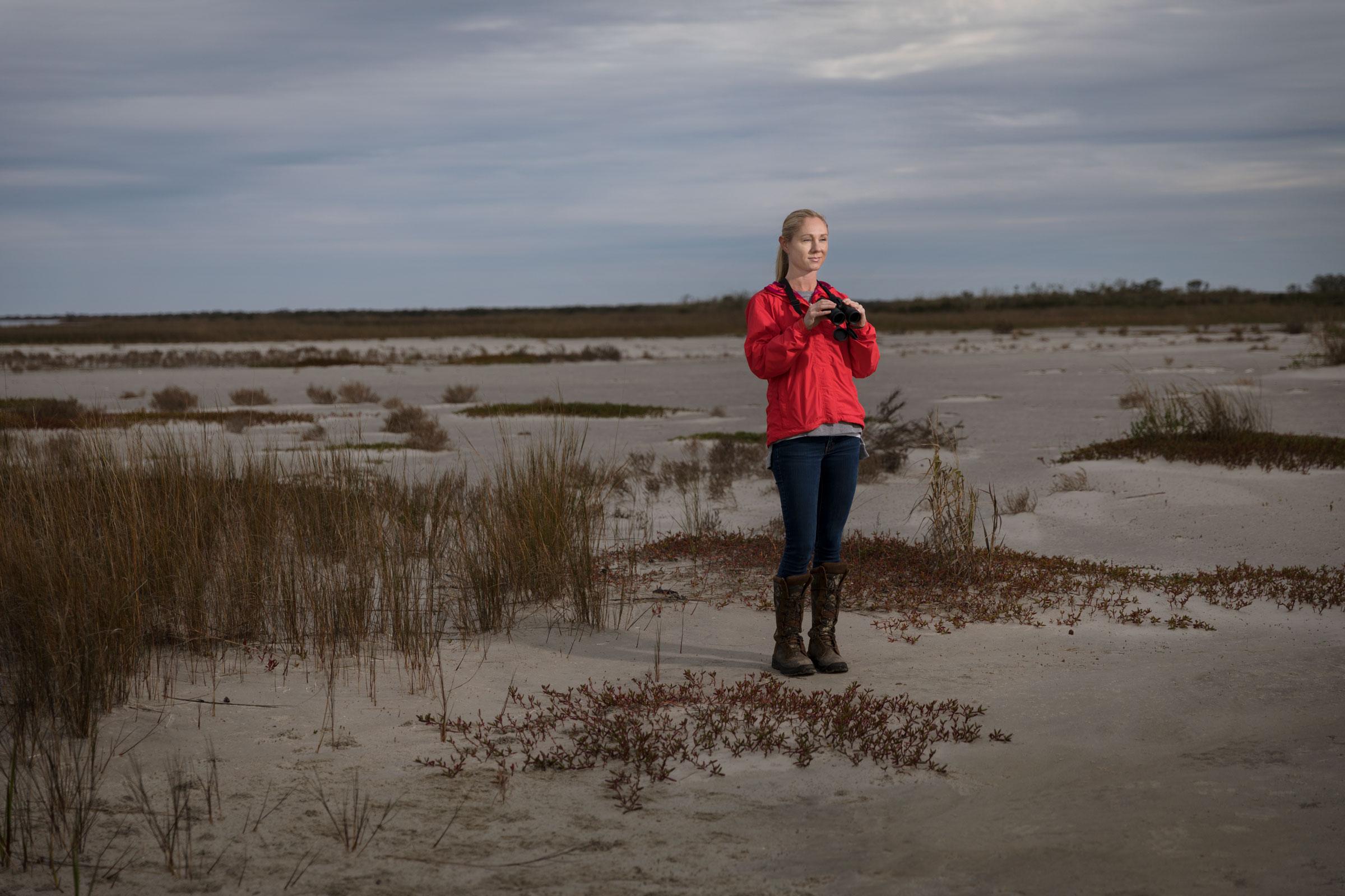 Kara Lankford spearheaded Audubon's new report. Mac Stone