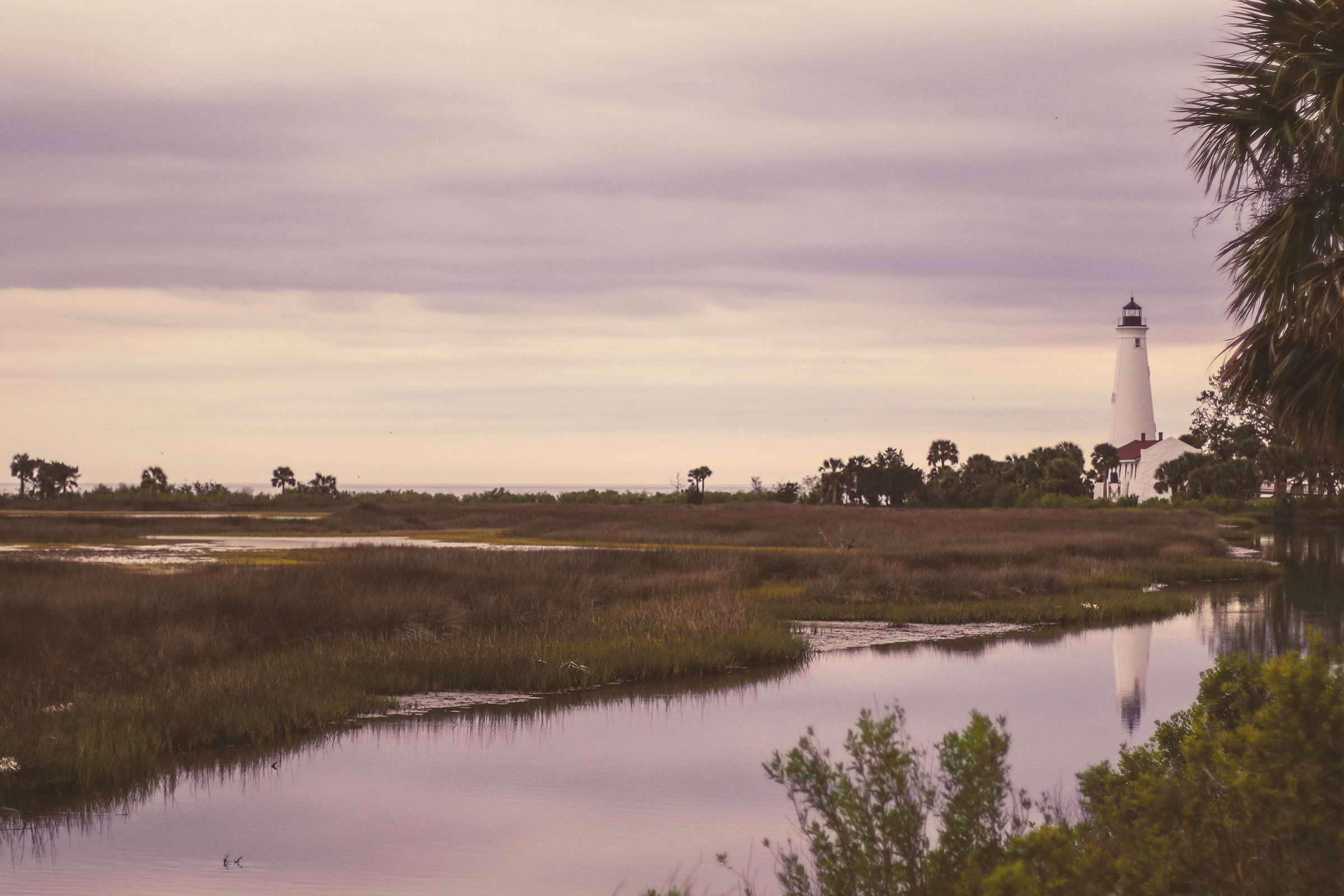 The St. Mark's Lighthouse in Wakulla Florida.