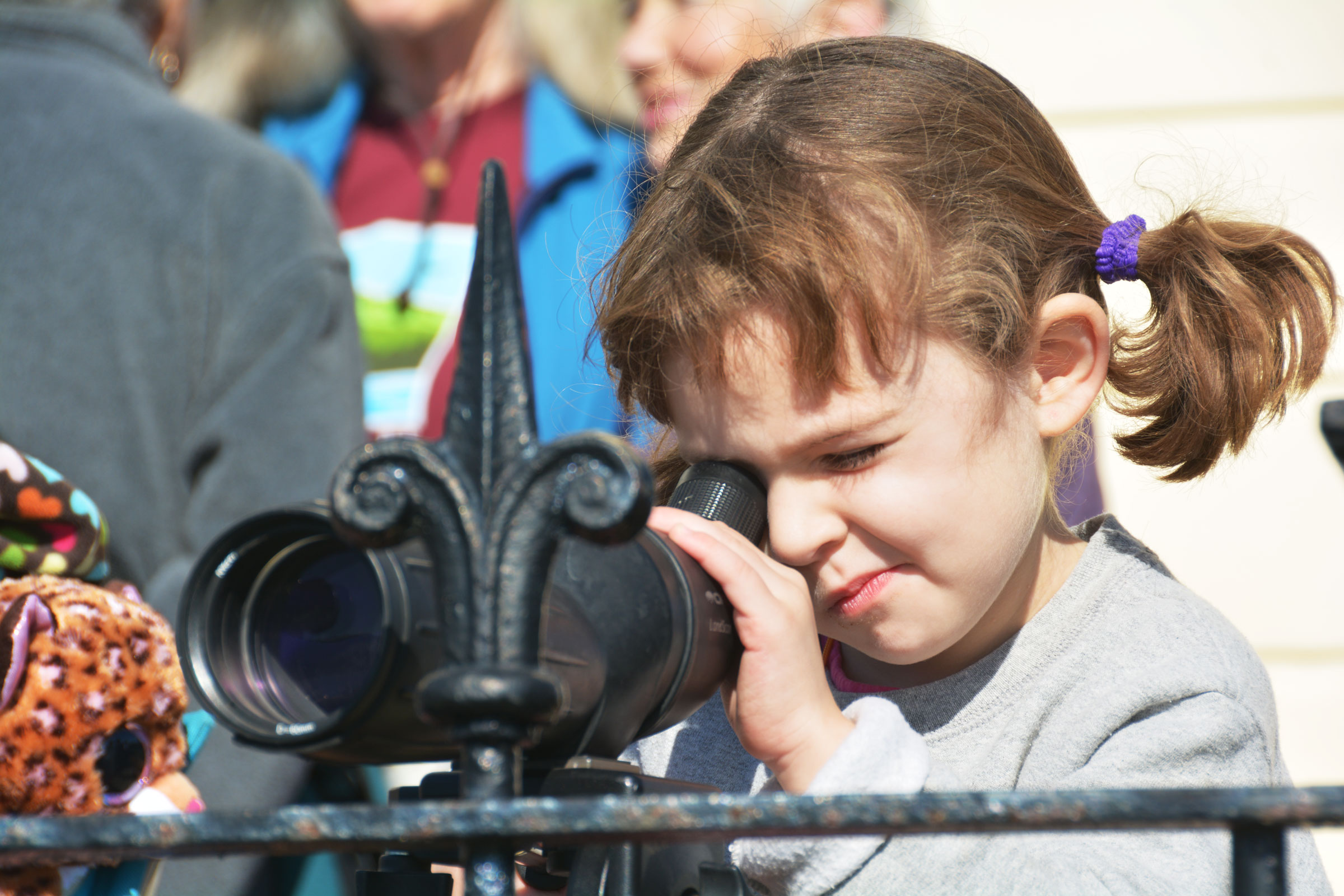Bring your kids to a birding event and they may find themselves as rapt as you are. David Taylor