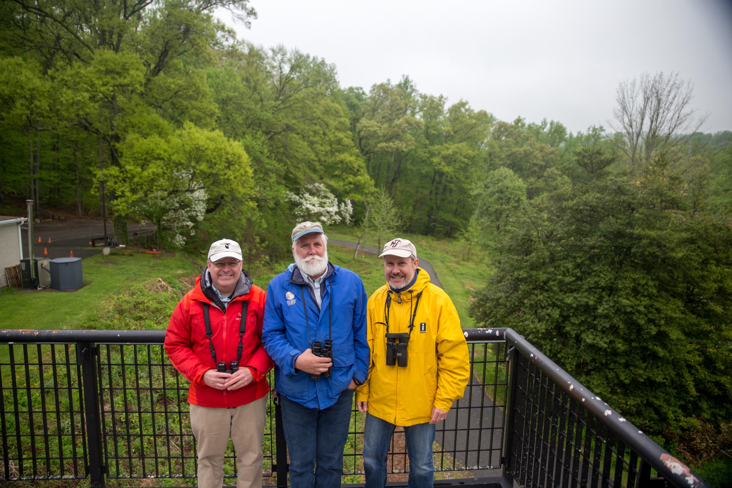 Deckcissels: Ron Barkley, Mike Anderson, Dan Barkley Camilla Cerea/Audubon