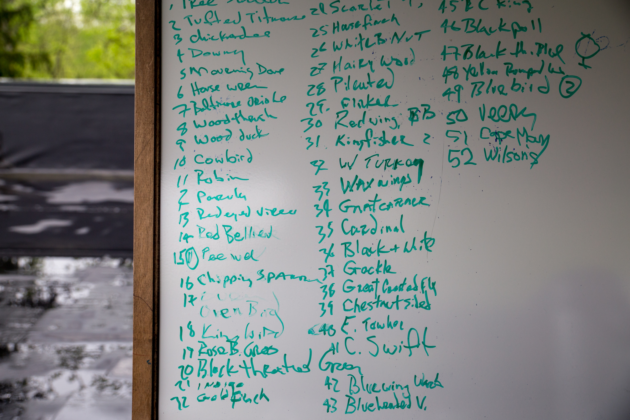 The Deckcissels keep track of their sightings. Camilla Cerea/Audubon