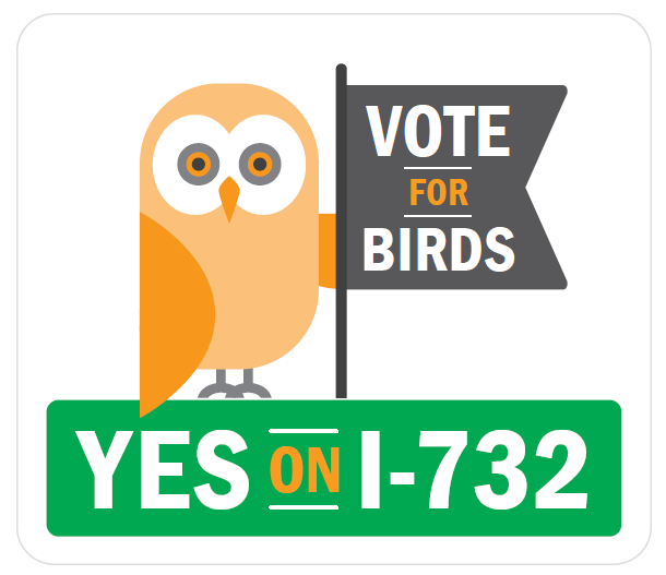 Vote for Birds: Yes on I-732